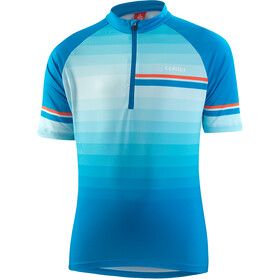 Löffler Evo Half-Zip Bike Jersey Kids brillant blue